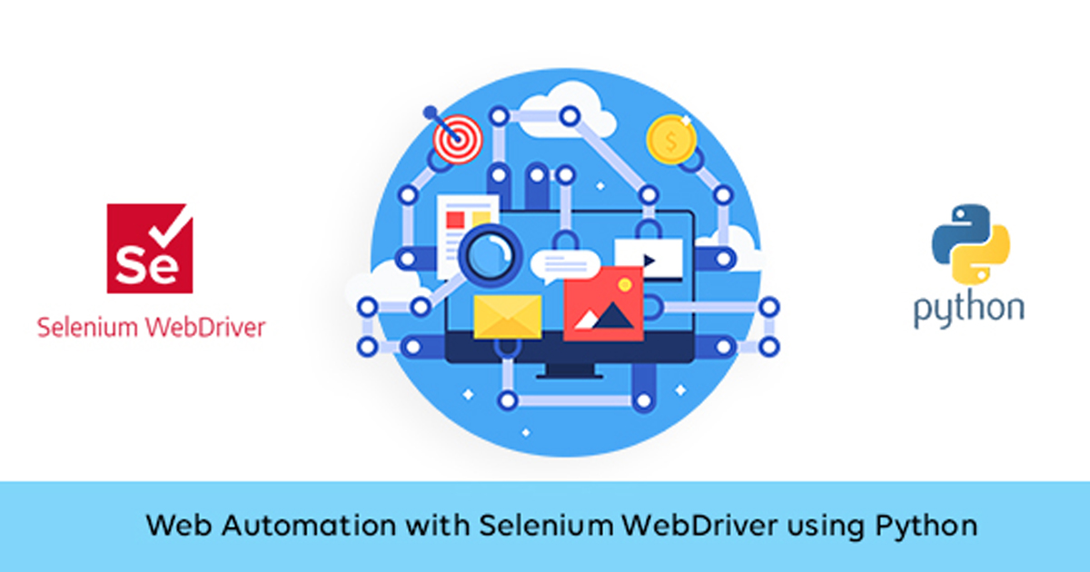 Web Automation with Selenium WebDriver using Python